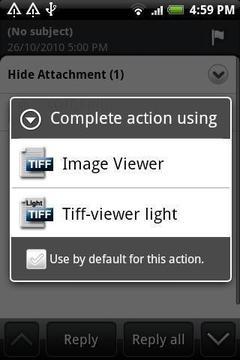 TIFF和传真查看器 - 兴建