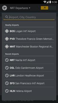 航班信息板