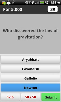 Science Trivia Game Free