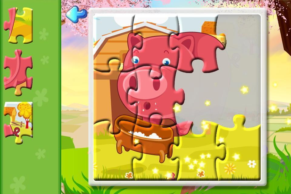 本儿童拼图游戏是以大海中的各种风景和奇特的动物园为主题乐园的拼图