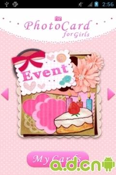 相片卡片集 for Girls