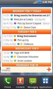 Cozi Family Calendar