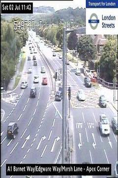 London Road Traffic Live