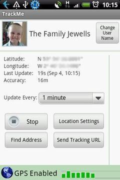 跟踪我 - GPS定位追踪器(试行)