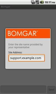 Bomgar Support Client