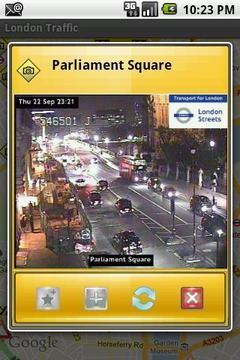 London Road Traffic Live