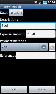 Expenses recorder