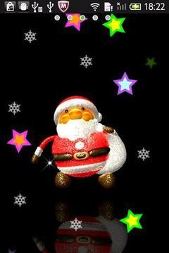 圣诞老人动态壁纸