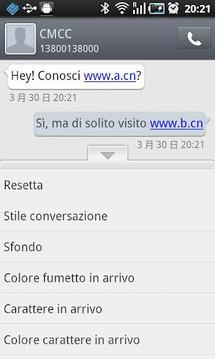 GO短信意大利语言