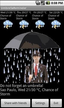 Umbrella Reminder