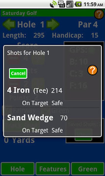 Golf Shot Tracker Pro