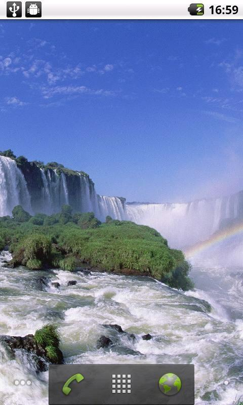 壁纸 风景 旅游 瀑布 山水 桌面 480_800 竖版 竖屏 手机
