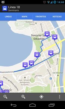 多诺斯蒂亚巴士