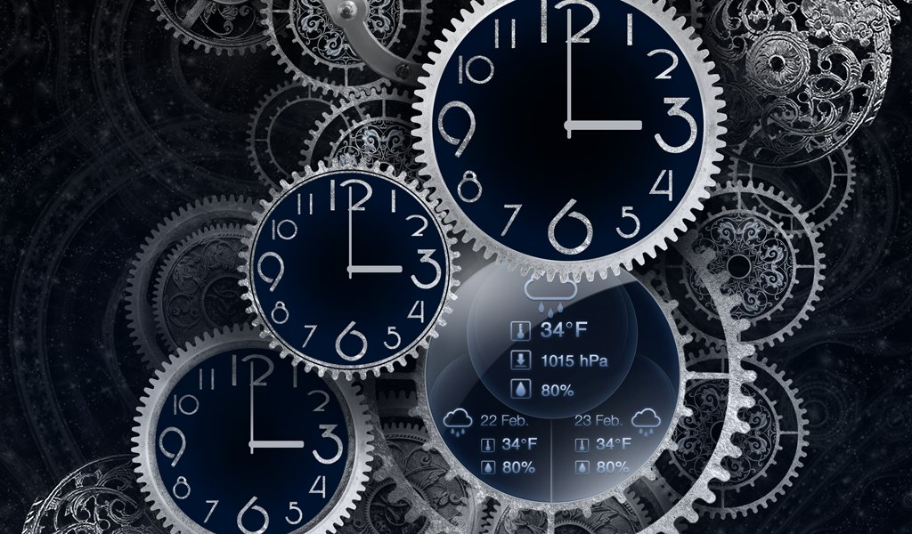 時鐘動態壁紙