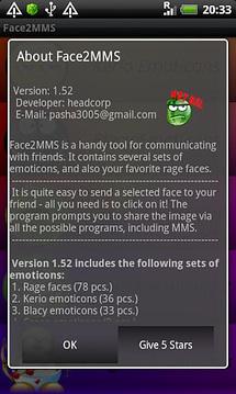 Face 2 MMS