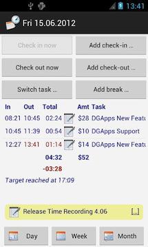 TimeRec Plugin 1