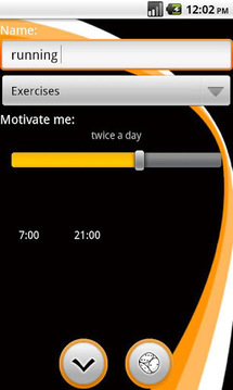 Motivate me to exercise