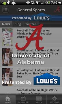 Alabama Sports