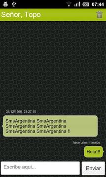 SMS Argentina