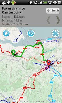 自行车轮毂周期的旅程规划