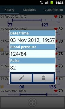 Blood Pressure Diary