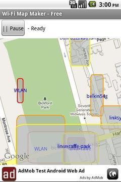 Wi-Fi Map Maker