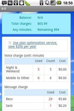 Mobile Rate Plan