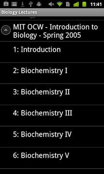 生物学讲座
