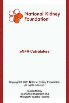 eGFR Calculators