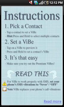 震动调节器(ViBe)