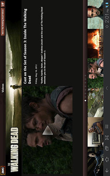 AMC Mobile for tablet