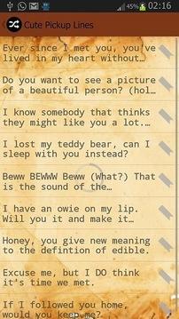 Flirty Pick Up Lines