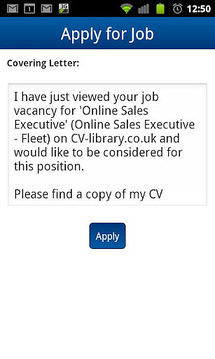 CV-Library Job Search