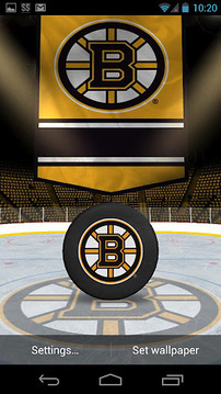 NHL 3D Live Wallpaper