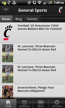 Bearcats Sports