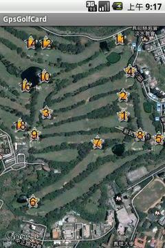 GPS高爾夫桿弟軟體