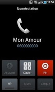 Call Mon Amour in just 1 click