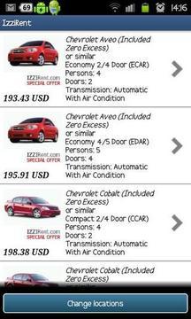 IzziRent Car Rental