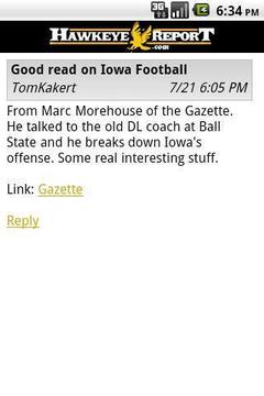 HawkeyeReport.com Mobile