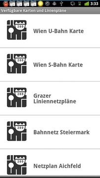 Fahrplan Österreich