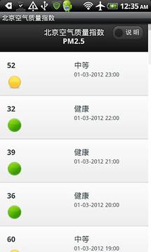 北京空气质量指数