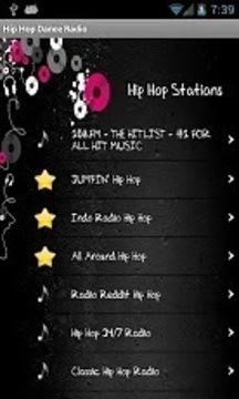 嘻哈舞蹈收音机的