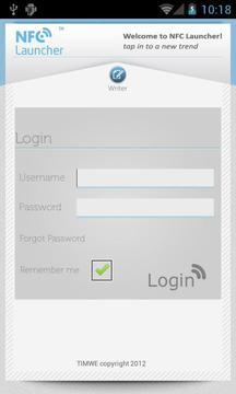 NFC Launcher