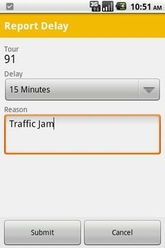 SAP TM Notifier