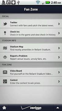 休斯敦德州人的手机应用程序 Houston Texans Mobile App