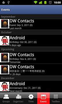 分组联系人 Contact Group Manager Pro