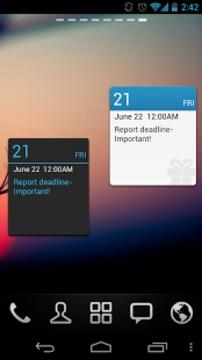 GO桌面日历小部件 Calendar GOWidget