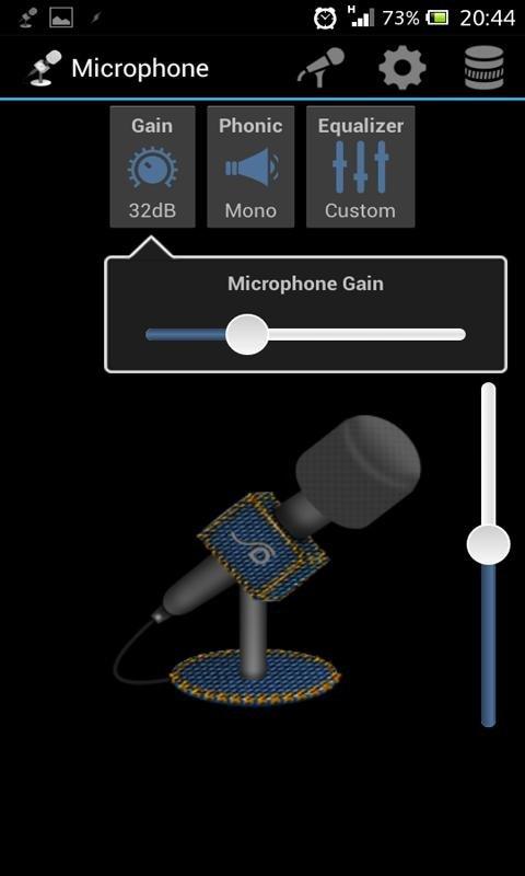 扩音器 2.单声道/立体声(个别余额频道) 3.均衡器的调整 4.