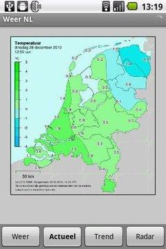 Gratis Weer NL vooruitzichten