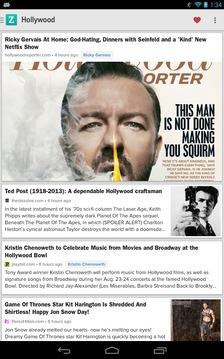 Zite杂志阅读器